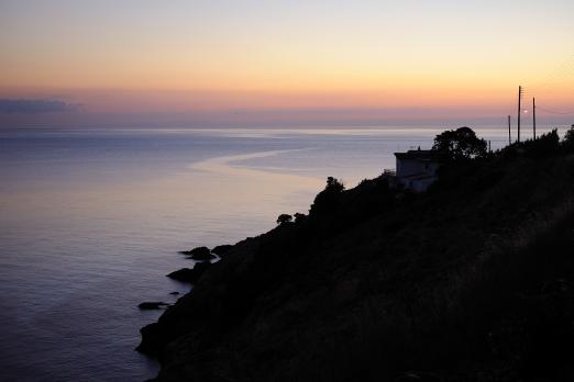 Sunset - Villa Dimitri near Armenistis - Ikaria Island - Greece - October 2012