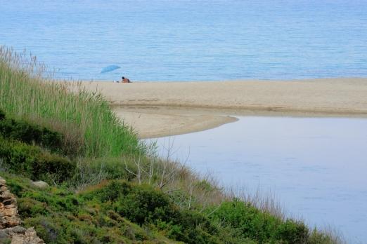 Messaki beach near Armenistis - Ikaria Island - Greece - October 2012