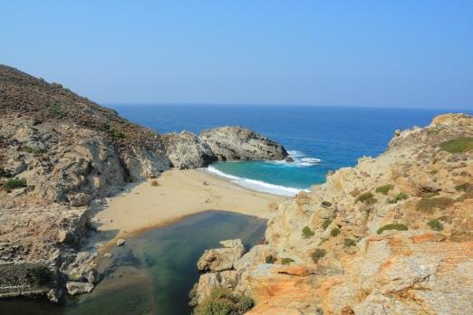Nas beach - Ikaria Island - Greece - October 2012