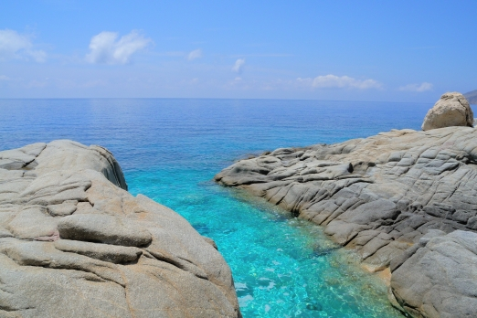 Sychelles beach - Ikaria Island - Greece - October 2012