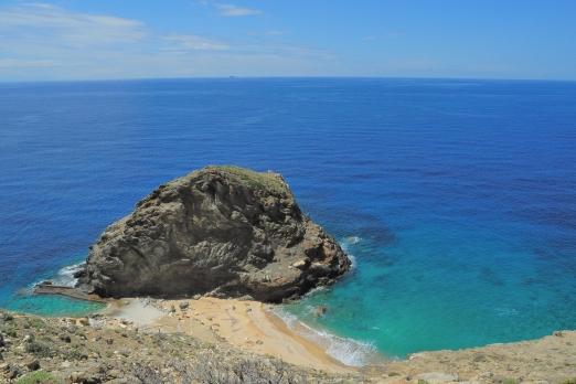 Psaropounda C. (Apokofto Bay) - south-west coast - Ikaria Island - Greece - May 2012