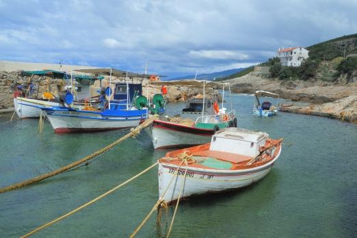Avlaki harbour - Ikaria Island - Greece - May 2012
