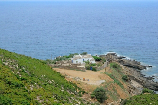Private house - Avgholimenas Bay near Kioni - Ikaria Island - Greece - May 2012