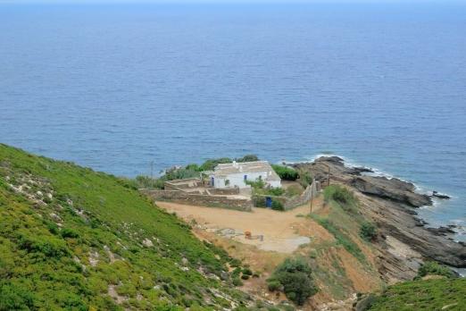 Private house - Avgholimenas Bay near Kioni - Ikaria Island - Greece - May 2012