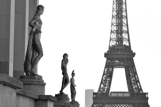 Eiffel Tower - Paris - July 2011
