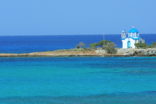 Church of Analipsi near Gialiskari - Ikaria Island - Greece - May 2011