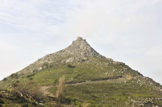 The castle of Koskina - Ikaria Island - Greece - May 2011
