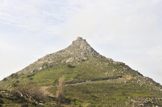 The castle of Koskina - Ikaria Island - Greece - May 2011