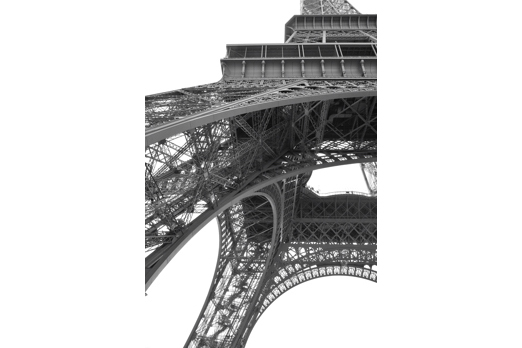 Detail of the Eiffel Tower - Paris - July 2011