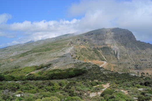 Pounta massif - central mountain chain - Ikaria Island - Greece - May 2012
