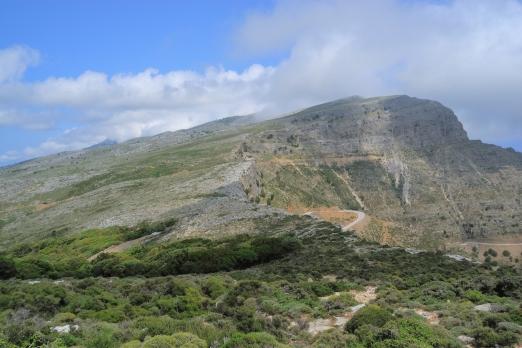 Pounta massif - central mountain chain - Ikaria Island - Greece - May 2012