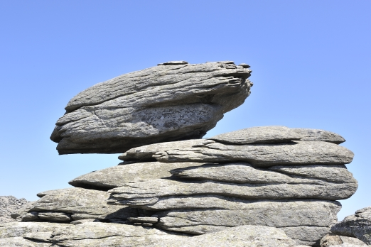 Fascinating stone landscape - central mountain chain - Ikaria Island - Greece - May 2011