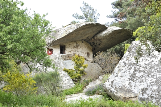 Old chapel near Moni Theoktistis monastery - Ikaria Island - Greece - May 2011
