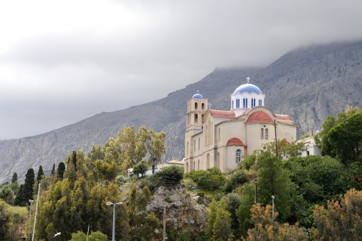 Church in Aghios Kirykos - Ikaria Island - Greece - May 2011