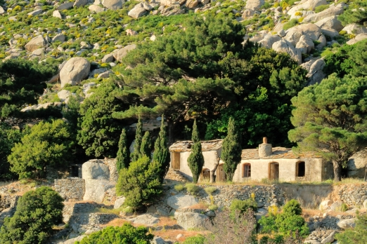 Old ikarian stone house - Ikaria Island - Greece - May 2011
