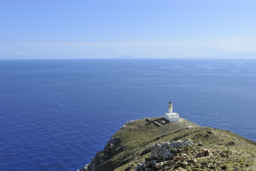 Papas Lighthouse (most south western point of Ikaria) - Ikaria Island - Greece - May 2012