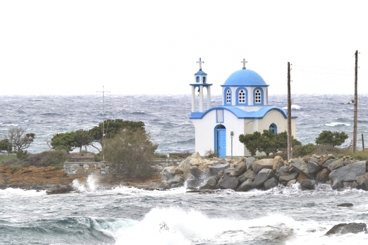 Church of Analipsi at Ghialiskari - Ikaria Island - Greece - May 2011