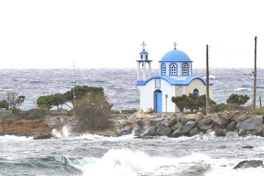 Church of Analipsi at Ghialiskari - Ikaria Island - Greece - May 2011