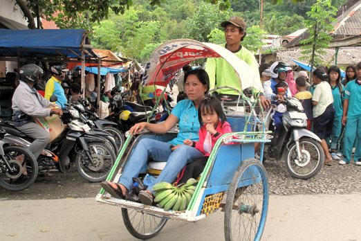Impression of the market in Dongala - Central Sulawesi - Indonesia 2010