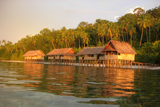 Accommodation - Raja Ampat Archipelago - West Papua - Indonesia 2008
