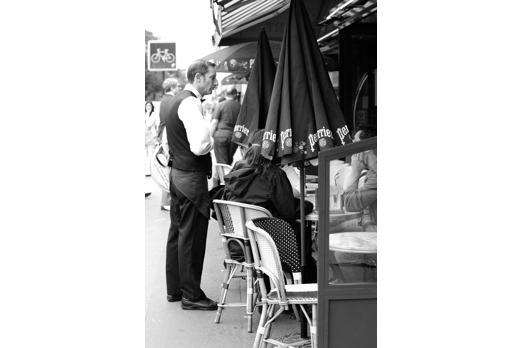 Brasserie near Pere Lachaise - Paris - July 2011