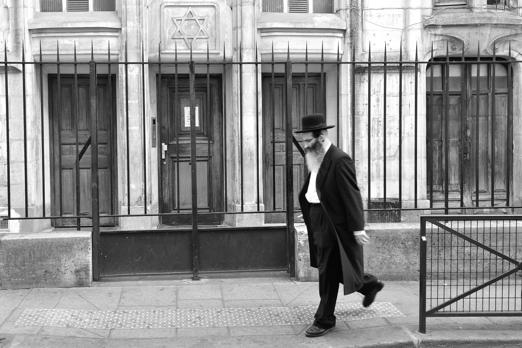 Impression of the Jewisch quarter - Paris - July 2011
