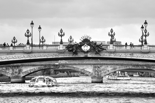 Impression of Pont Alexandre III - Paris - July 2011