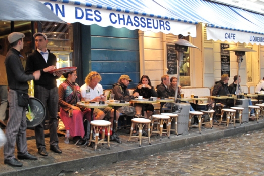 Impression - the quarter of montmartre - Paris - July 2011