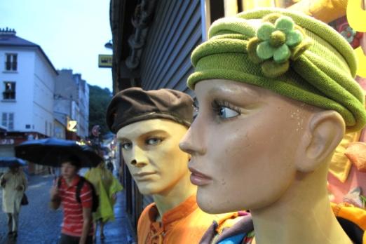 Impression - the quarter of montmartre - Paris - July 2011