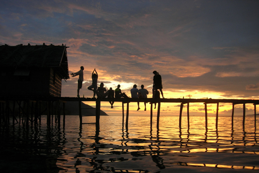 Sunset - Raja Ampat Archipelago - West Papua - Indonesia 2008