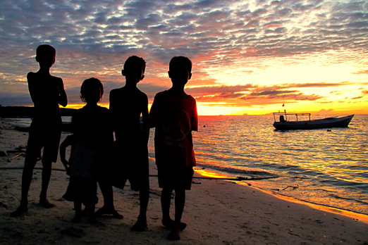 Sundown in Boneoge -  Central Sulawesi - Indonesia 2010