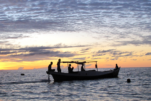 Going for night fishing in Boneoge - Central Sulawesi - Indonesia 2010
