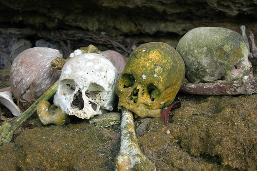 Skull cave - Waigeo - Raja Ampat Archipelago - West Papua - Indonesia 2007