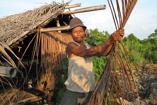 Farmer in the country - Pantar - Alor-Archipelago - Indonesia 2010
